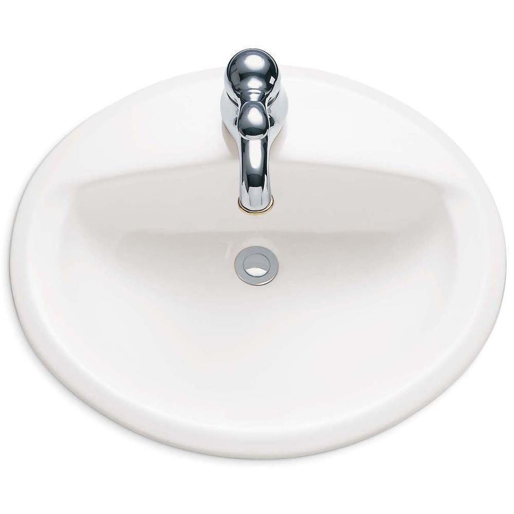 American Standard Aqualyn Self Drop In Bathroom Sink