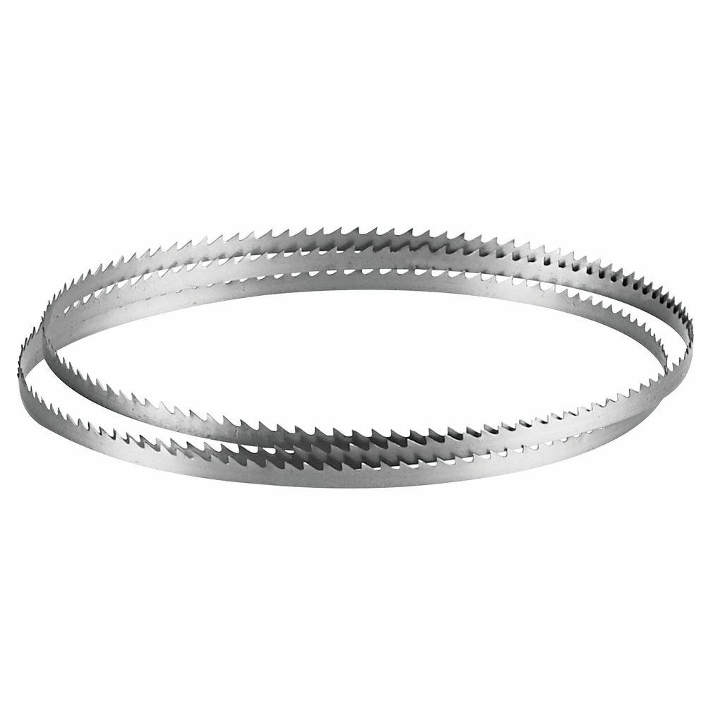 80 bandsaw blade. bosch 62 in. x 1/4 6 teeth per inch carbon steel band saw blade for woods, plastics, and composite materials-bs62-6wd - the home depot 80 bandsaw n
