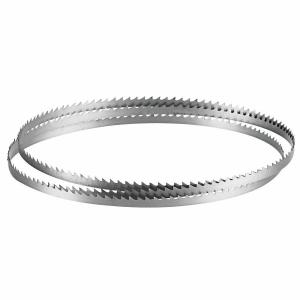 Bosch 62 inch x 1/4 inch x 6 Teeth Per Inch Carbon Steel Band Saw Blade for Woods, Plastics, and Composite Materials by Bosch