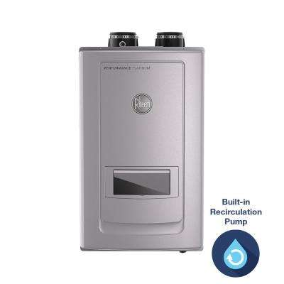 Performance Platinum 11 GPM Natural Gas High Eff Indoor Tankless Water Heater with Recirculation and Leak Protection