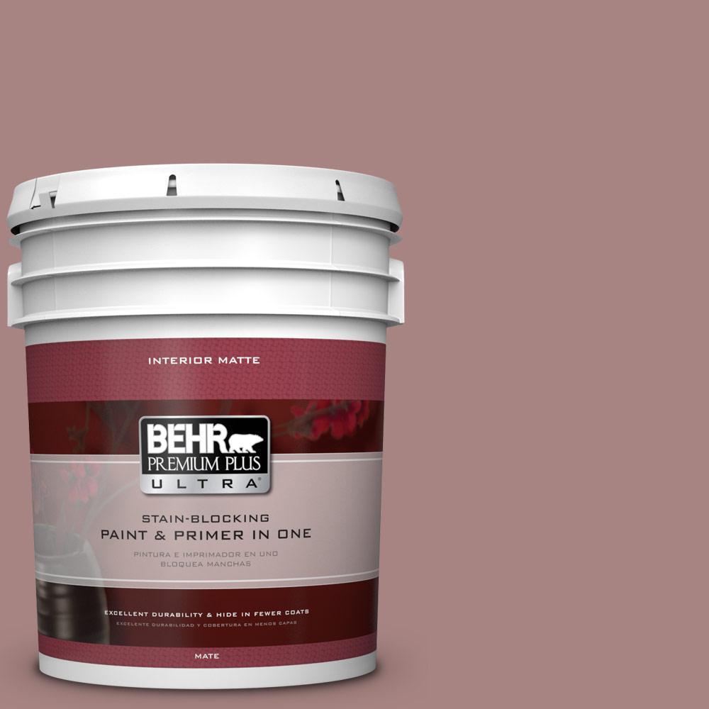 BEHR Premium Plus Ultra 5 gal. #700B-4 Muse Flat/Matte Interior Paint