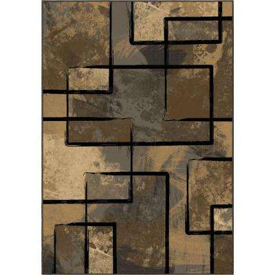 Clay Silver 7 ft. 10 in. x 10 ft. 10 in. Indoor Area Rug