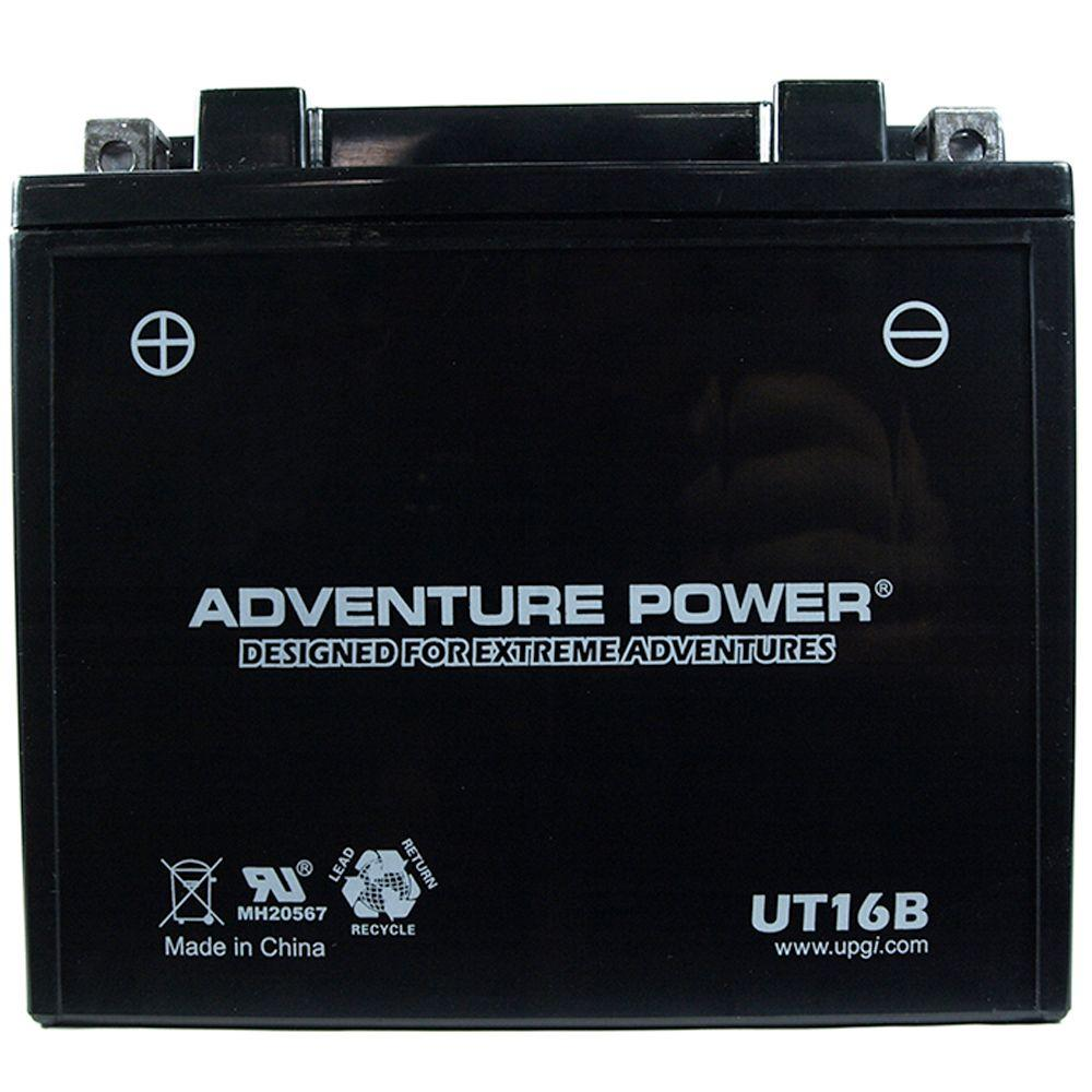 UPG Sealed AGM 12-Volt 17 Ah Capacity D Terminal Battery