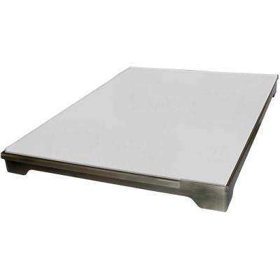 20 in. Stainless Steel Pizza Brick Tray for Outdoor Grill Island