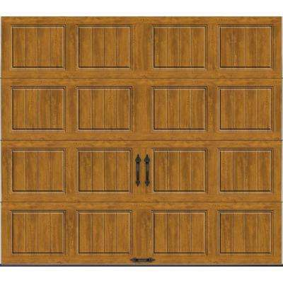 Gallery Collection 9 ft. x 7 ft. 18.4 R-Value Intellicore Insulated Solid Ultra-Grain Medium Garage Door