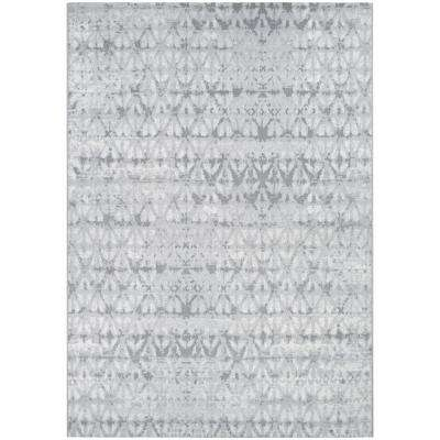 Marina Grisaille Pearl-Champagne 8 ft. x 11 ft. Area Rug