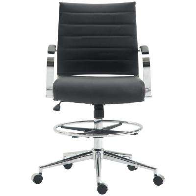 Black Tremaine Drafting Chair