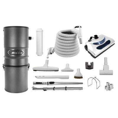 Central Vacuum Package for Small to Large Homes, Cleaning All Surfaces