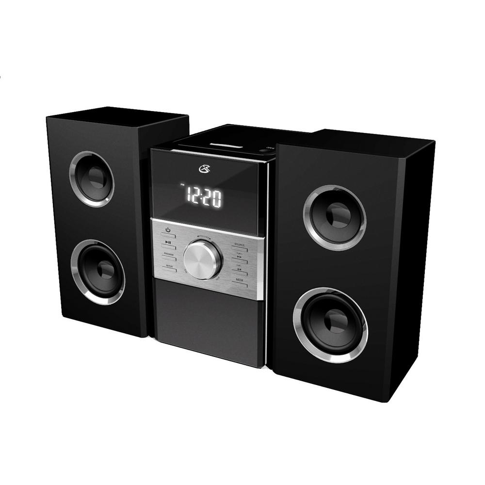 GPX Home Music System with CD and AM/FM stereo radio-HC425B - The ...