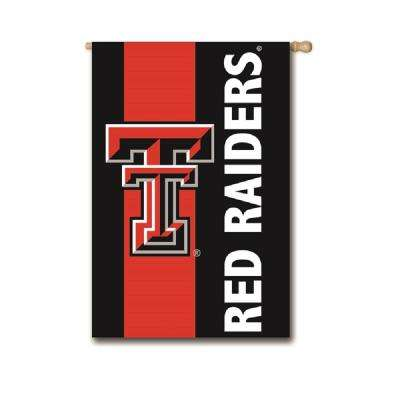 2-1/3 ft. x 3-2/3 ft. Texas Tech Embellished House Flag