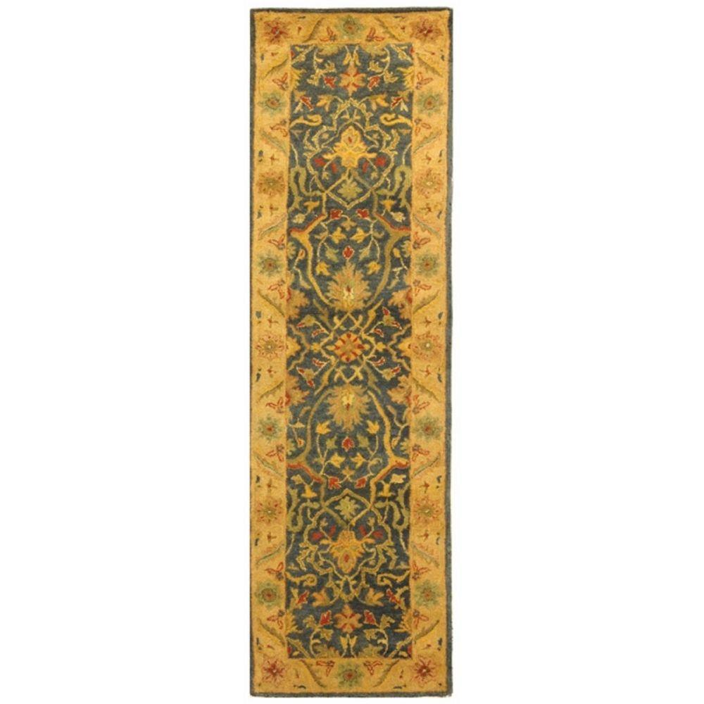 Antiquity Blue 2 ft. 3 in. x 8 ft. Runner