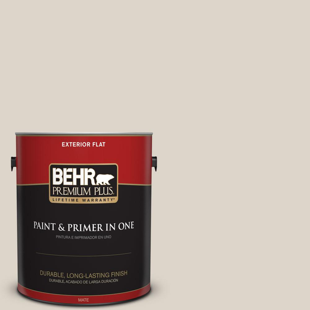 1-gal. #720C-2 Chocolate Froth Flat Exterior Paint