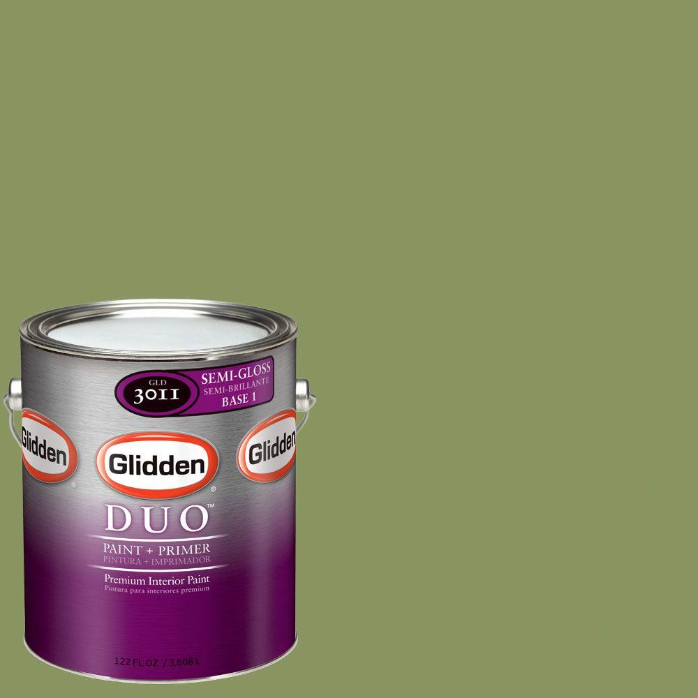 Glidden DUO Martha Stewart Living 1-gal. #MSL105-01S Sea Anemone Semi-Gloss Interior Paint with Primer - DISCONTINUED