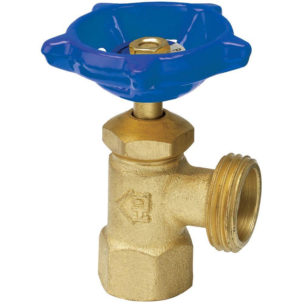 3/4 in. Brass FPT x MHT Boiler Drain