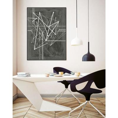 "24 in. x 36 in. ""Vertices I"" by Ethan Harper Framed Wall Art"