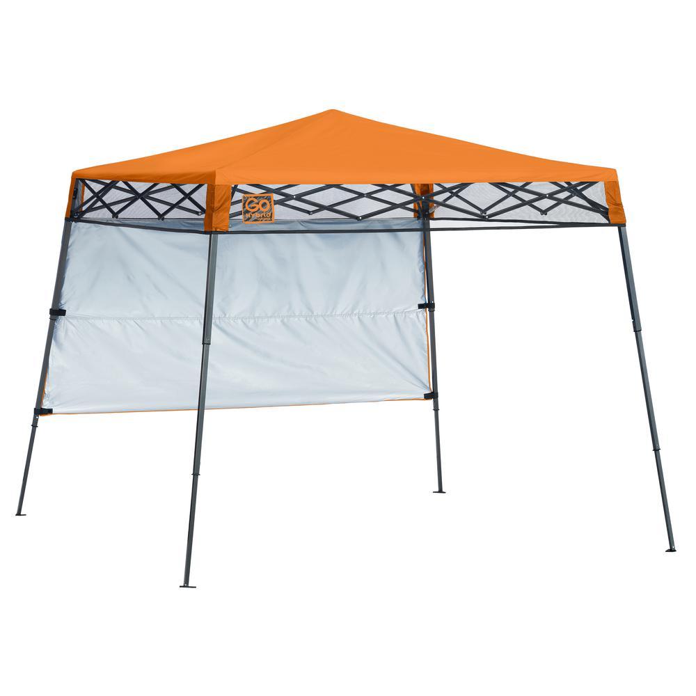 7 ft. x 7 ft. Russet Orange Slant Leg Canopy