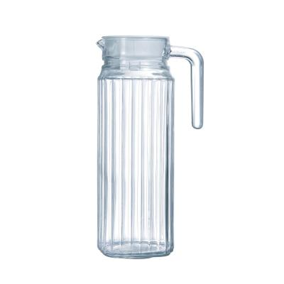 Quadro Jug 37 oz. with White Lid (Set of 1)