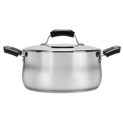 5.5 qt. Stainless Steel Dutch Oven with Lid
