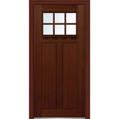 32 In. X 80 In. Low E Glass Left Hand Craftsman 2