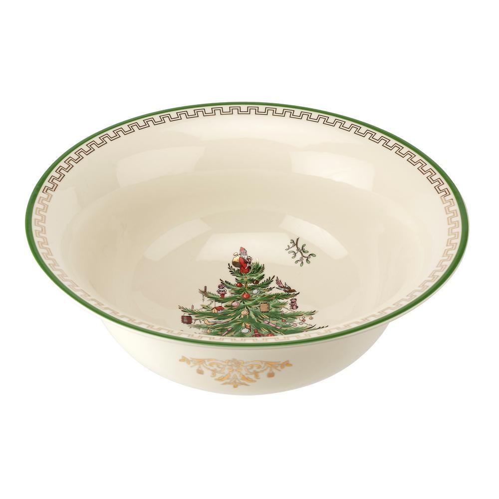 Christmas Serving Bowls Serveware The Home Depot