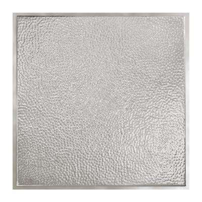 Chicago 2 ft. x 2 ft. Lay-In Tin Ceiling Tile in Clear (Case of 5)