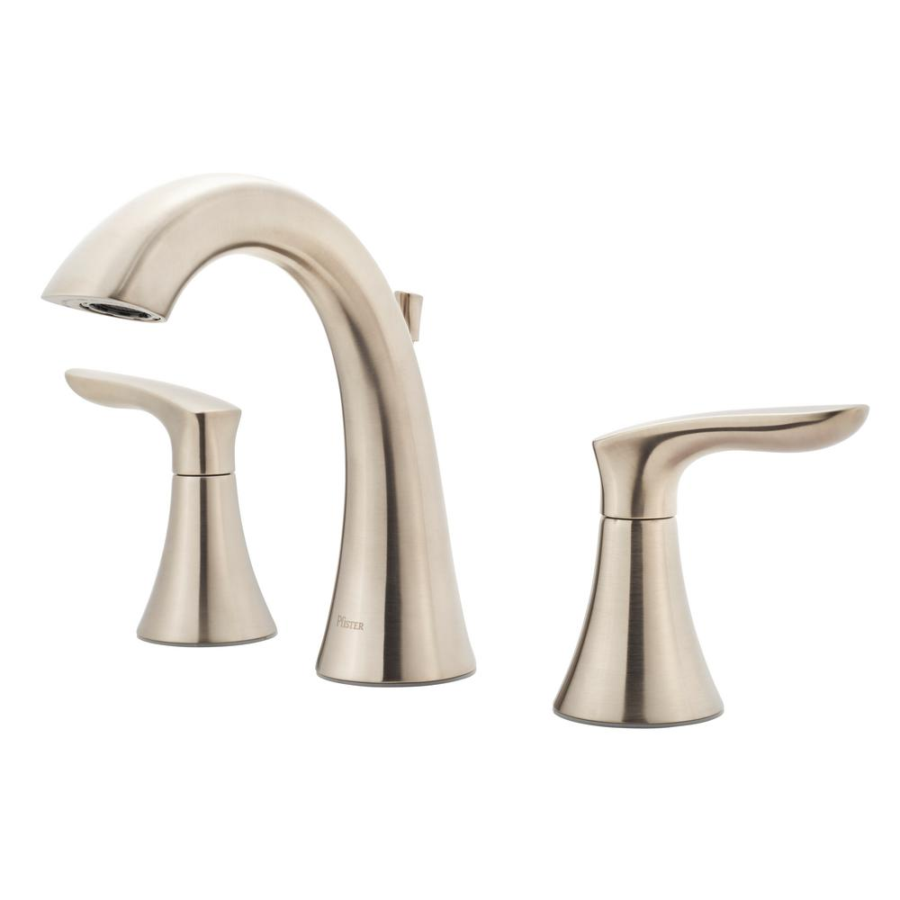 Pfister Weller 8 in. Widespread 2-Handle Bathroom Faucet