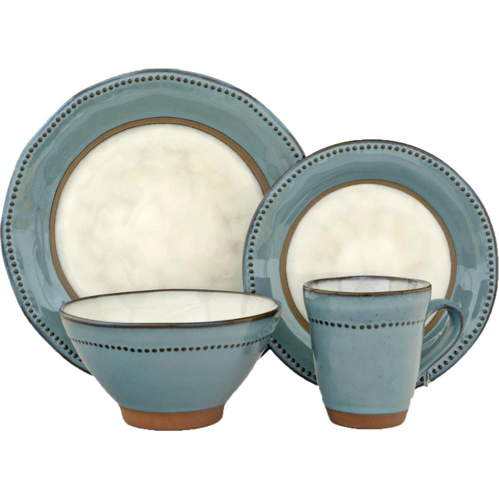 Sango 16-Piece Centrics Emerald Dinnerware Set  sc 1 st  The Home Depot & Sango 16-Piece Centrics Emerald Dinnerware Set-3596ED800ACM20 - The ...