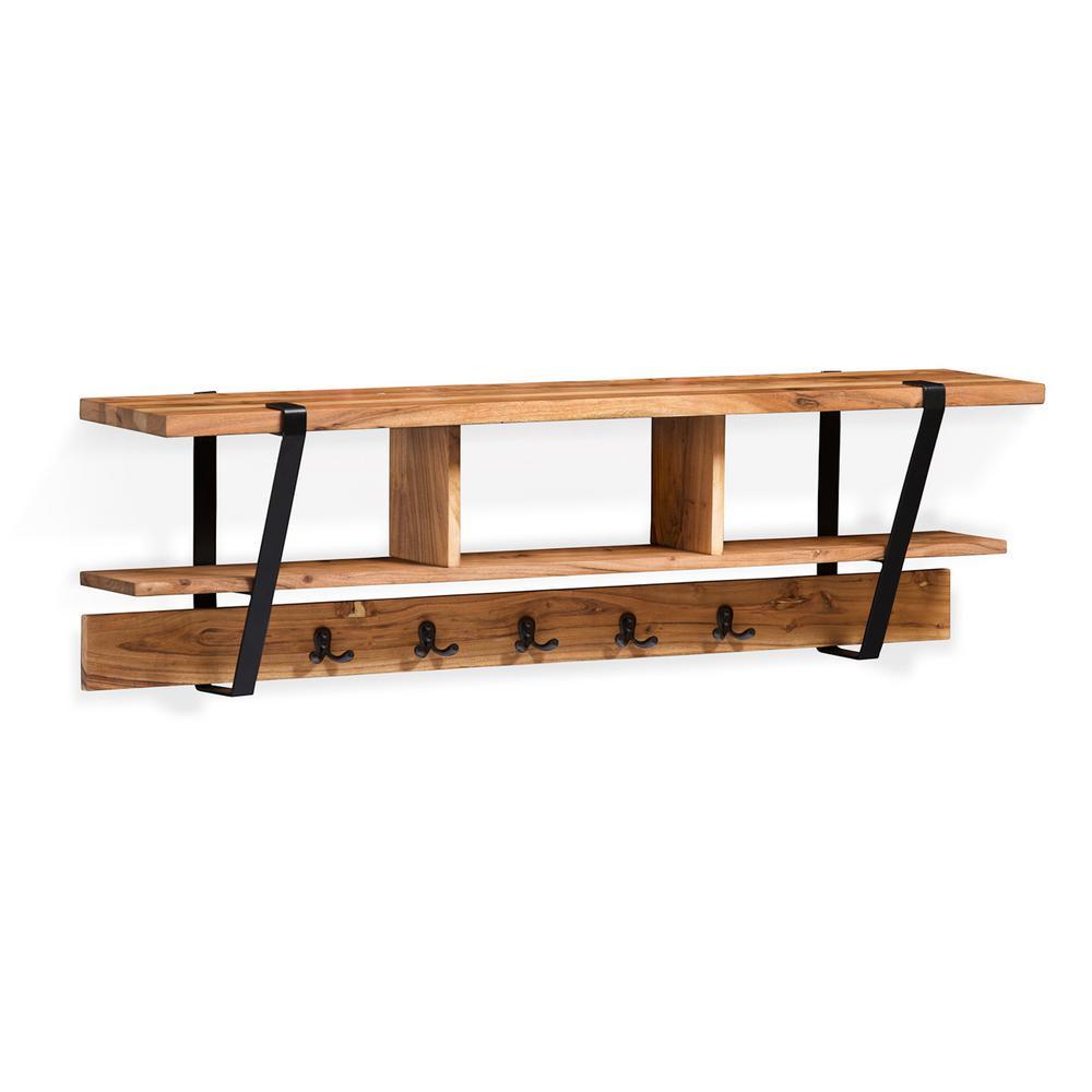 Alaterre Furniture Ryegate Natural Live Edge Natural Solid ...