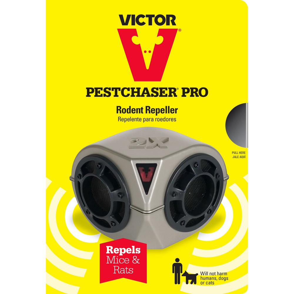 Victor Heavy-Duty Pest-Chaser Ultra-Sonic Rodent Repellent
