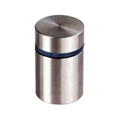 1 in. Dia x 1-3/8 in. L Stainless Steel Standoffs for Signs (60-Pack)