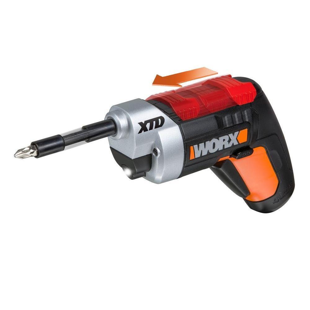 4-Volt Cordless XTD Extended Reach Screwdriver