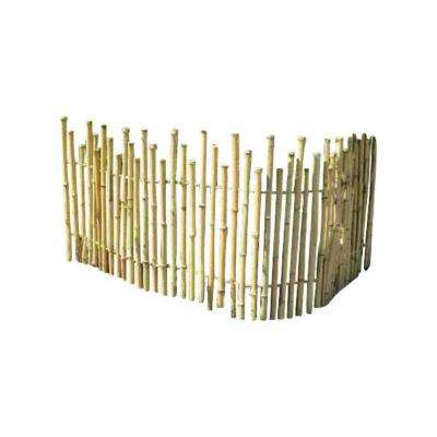 5 ft. L x 4 ft. H Bamboo Picket Rolled Fence