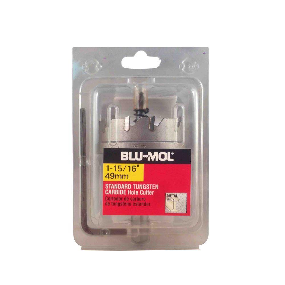 BLU-MOL 1-15/16 inch Standard Tungsten Carbide Hole Cutter by BLU-MOL