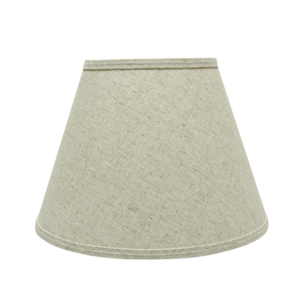 Beige hardback empire lamp shade