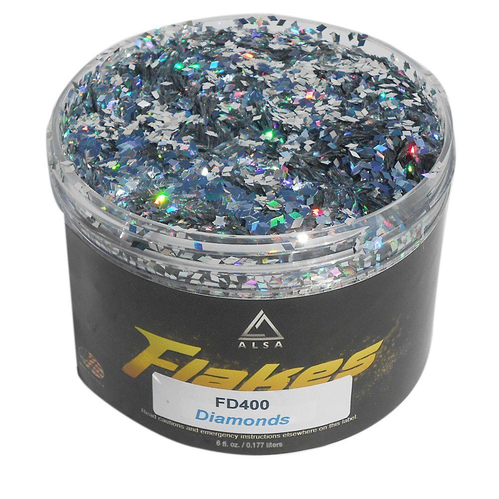 6 oz. Diamonds Flakes Paint Additive