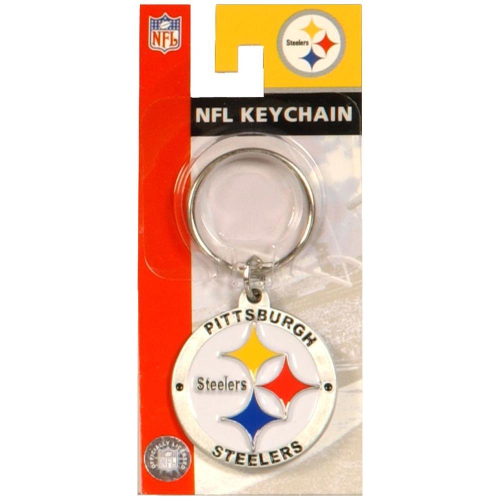 c76c3f1e5eeea The Hillman Group Pittsburgh Steelers NFL Key Chain-710887 - The ...