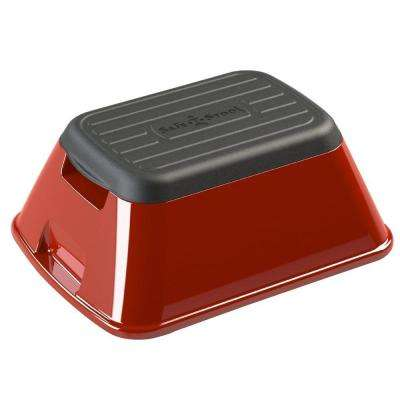 7.75 in. x 15.5 in. x 19.5 in. Anti-Tip and Carry Basket in Red