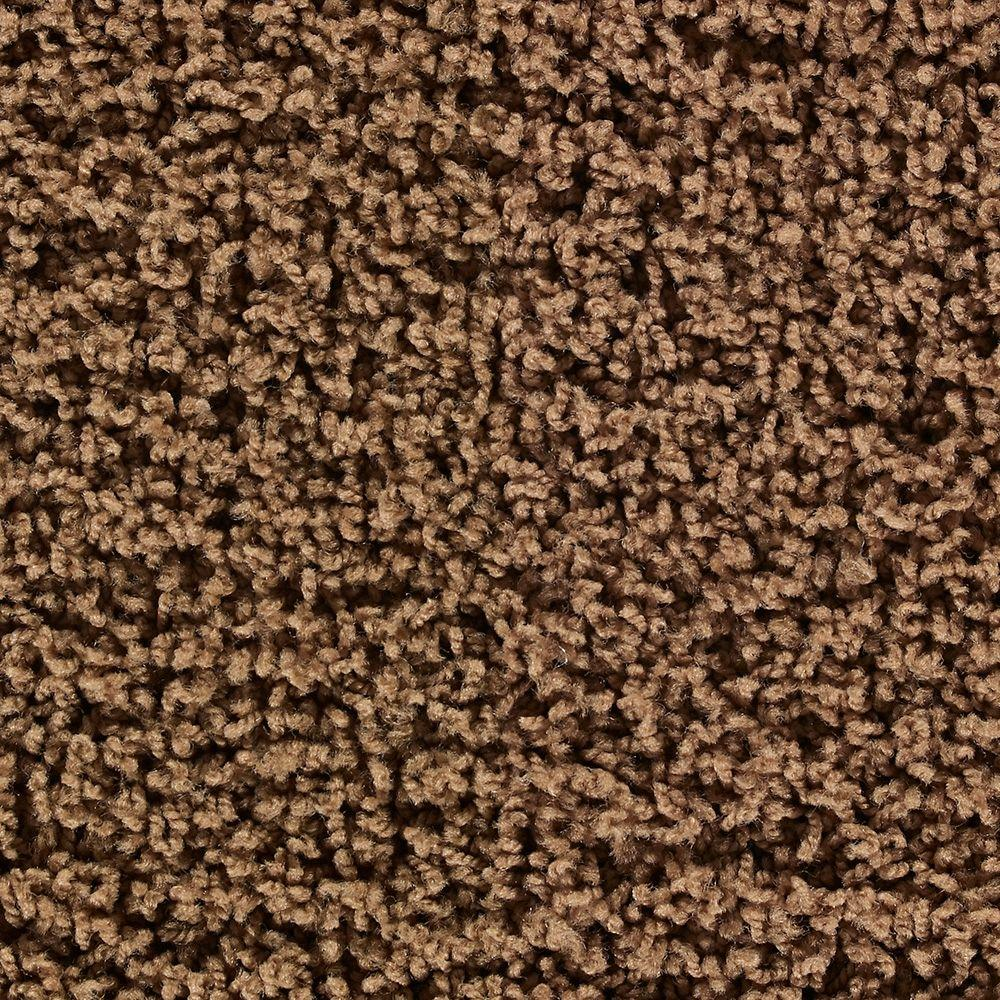 Martha Stewart Living Chequers Nutmeg - 6 in. x 9 in. Take Home Carpet Sample-DISCONTINUED