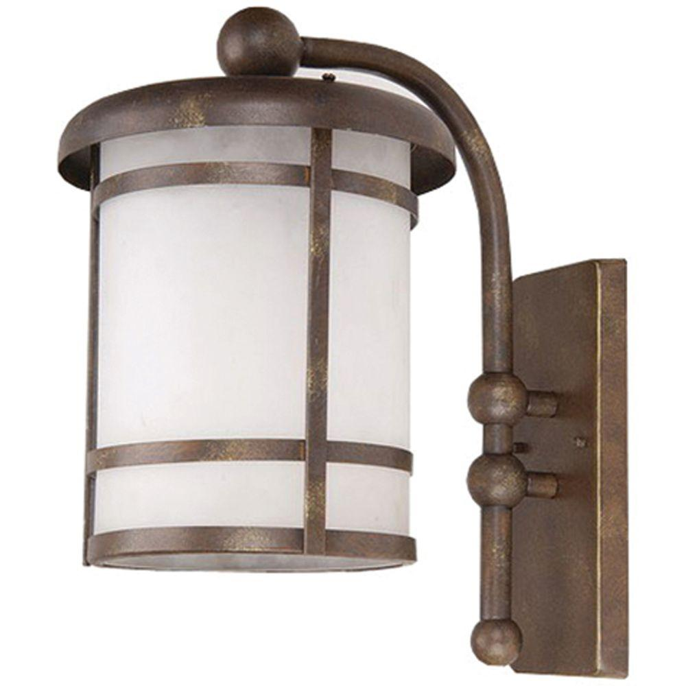 Yosemite Home Decor Heavenly Collection Wall mount 1-Light Outdoor Lamp-DISCONTINUED