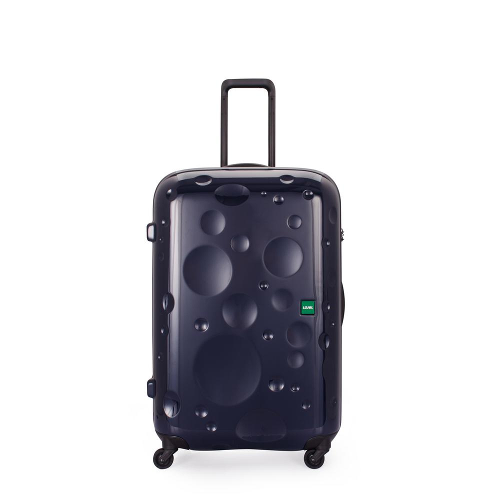 Lojel Luna 29.85 in. Dark Navy Hardside Spinner Suitcase