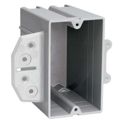 Slater Steel Stud 1-Gang Plastic Bracket Box