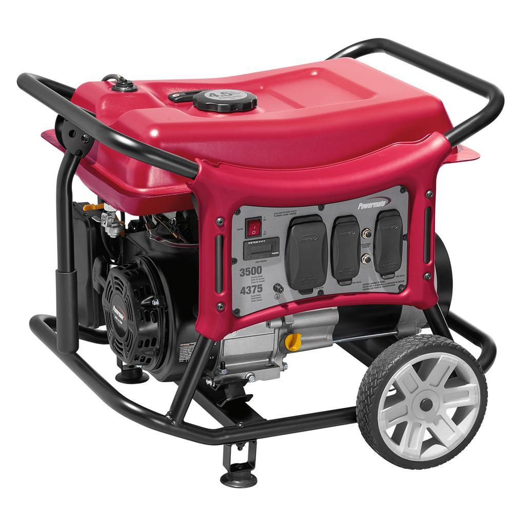 CX Series 3500-Watt Gasoline Powered Portable Generator