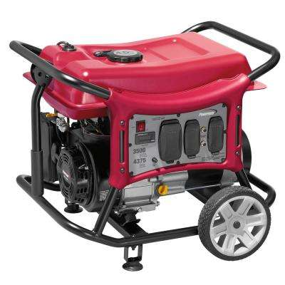 CX Series 3500-Watt Gasoline Powered Portable Generator