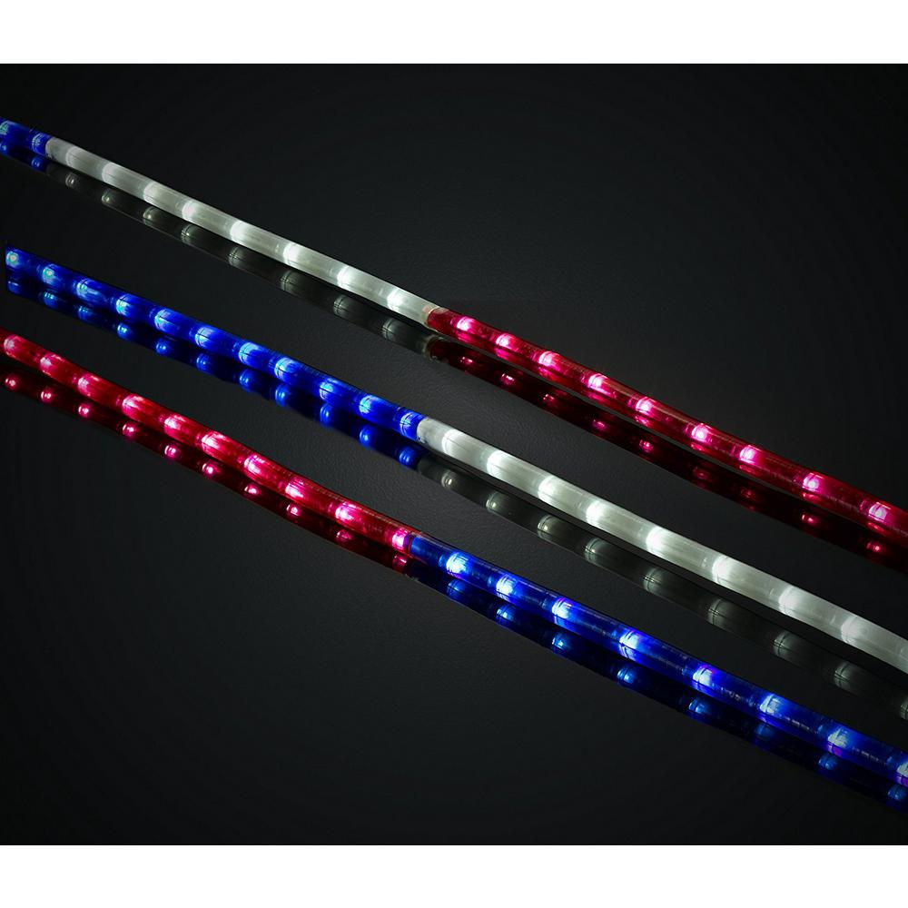 huge selection of ad380 26964 Green LongLife 18 ft. Red, White, and Blue LED Rope Light