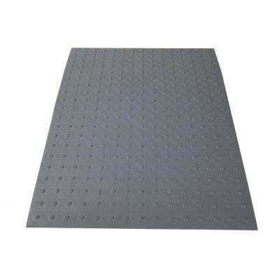 3 ft. x 4 ft. Dark Gray Detectable Warning Tile