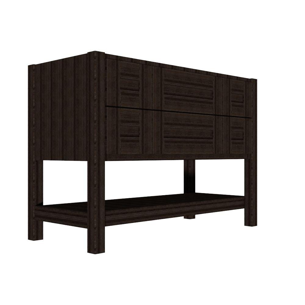 Home Decorators Collection Brinkhill 48 in. W Bath Vanity Cabinet Only in Flagstone-BHSD48-FG ...