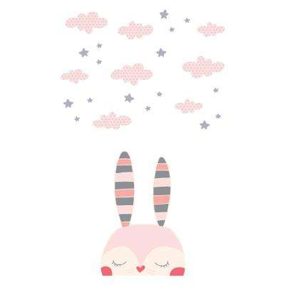 DreamIt Pink Doudou the Rabbit Wall Decor