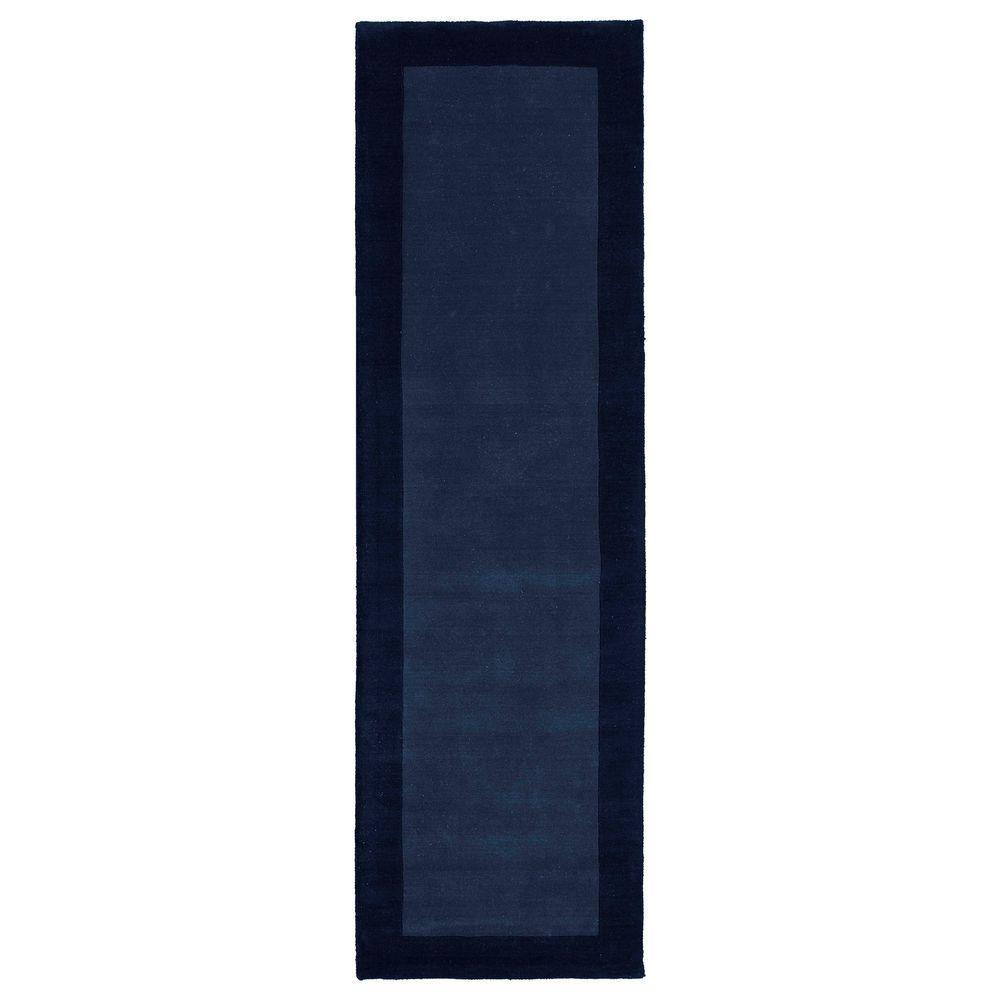 Regency Navy 3 ft. x 9 ft. Runner Rug