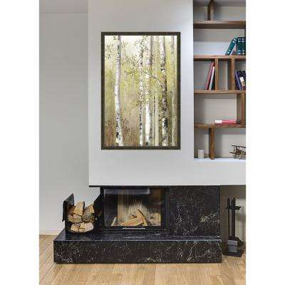 38.5 in. x 26 in. 'Serenity Birch' by Allison Pearce Textured Paper Print Framed Wall Art