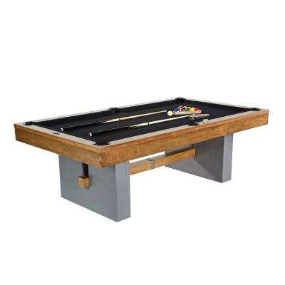 Urban Collection 8 ft. Billiard Table